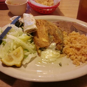 Photo Of Cuquita S Restaurant Farmers Branch Tx United States Chile Relleno