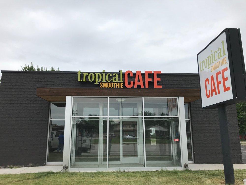 Tropical Smoothie Café: 14595 Southfield Rd, Allen Park, MI