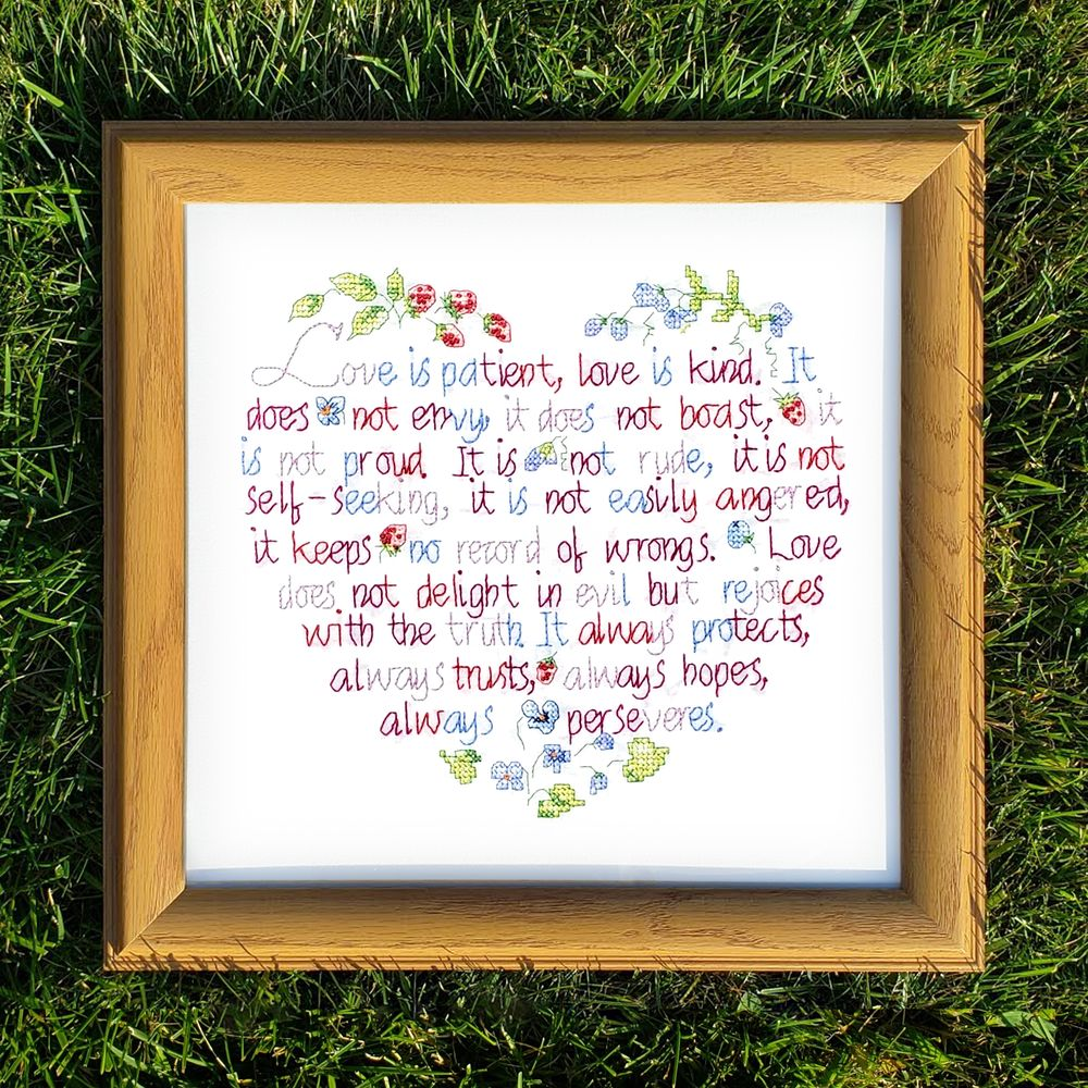 custom solid wood frame and mounting for personal stitch work for my ...