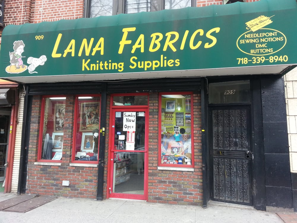 Lana fabrics 16 reviews fabric stores 909 kings hwy for Craft stores in brooklyn