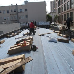 Photo Of Excelsior Roofing   San Francisco, CA, United States. Middle Of Job