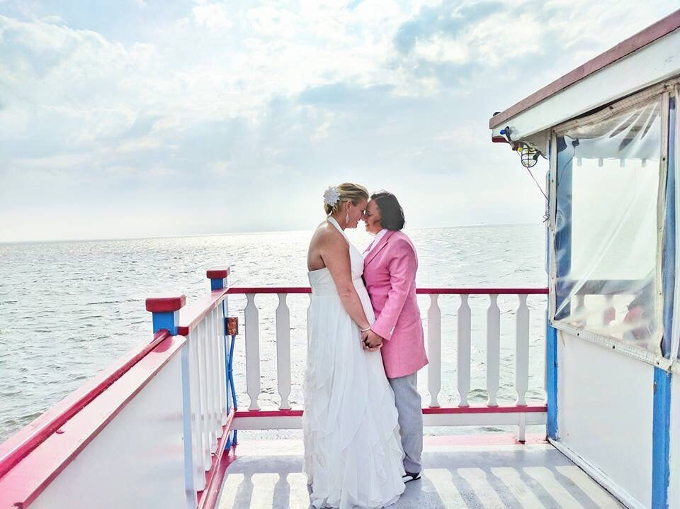 South Bay Cruises Lauren Kristy: Bay Shore Marina, Brightwaters, NY