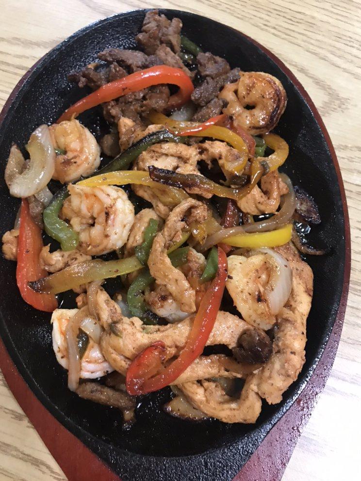 Food from El Vaquero Mexican Restaurant
