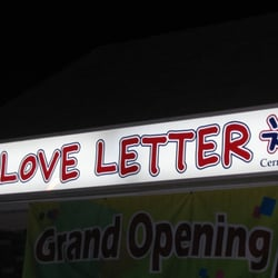 ... & Chicken Love Letter - Artesia, CA, États-Unis. Love Letter