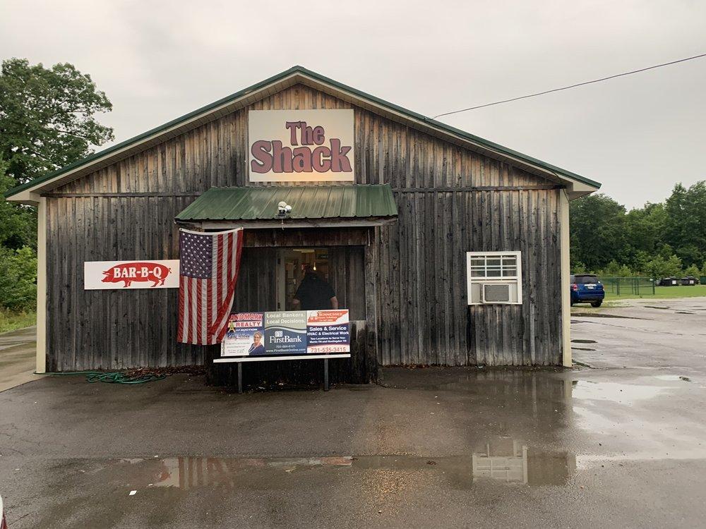 The Shack: 307 Hwy 641 N, Camden, TN