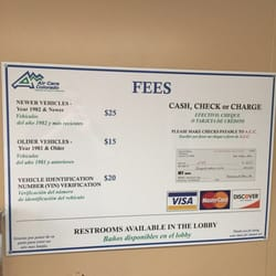 Air Care Colorado Emissions Testing Center 10 Photos 30 Reviews Motor Vehicle Inspection