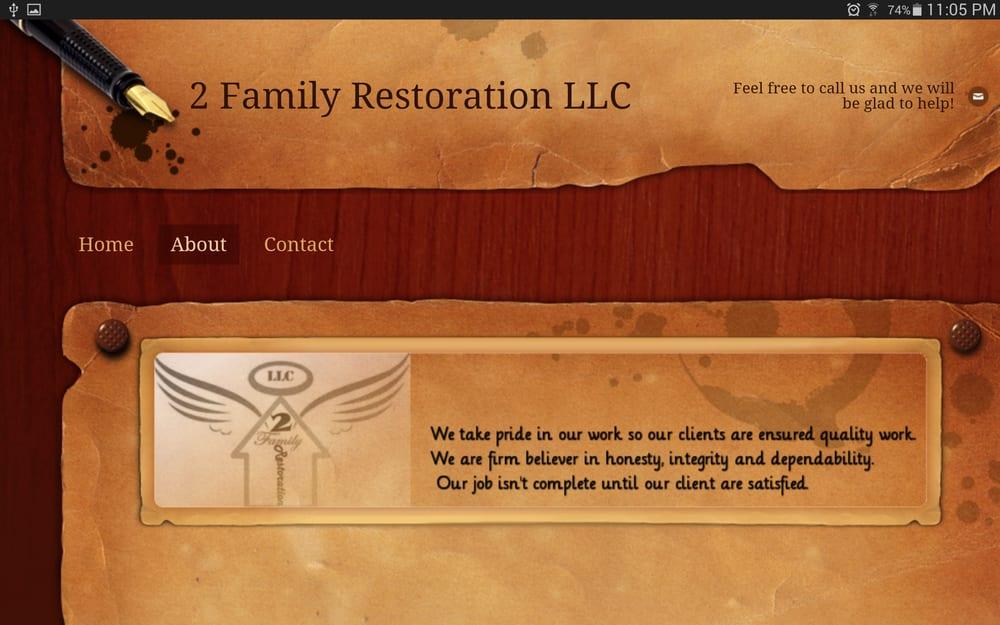 2 Family Restoration Handyman 3615 Trapnell Grove Lp