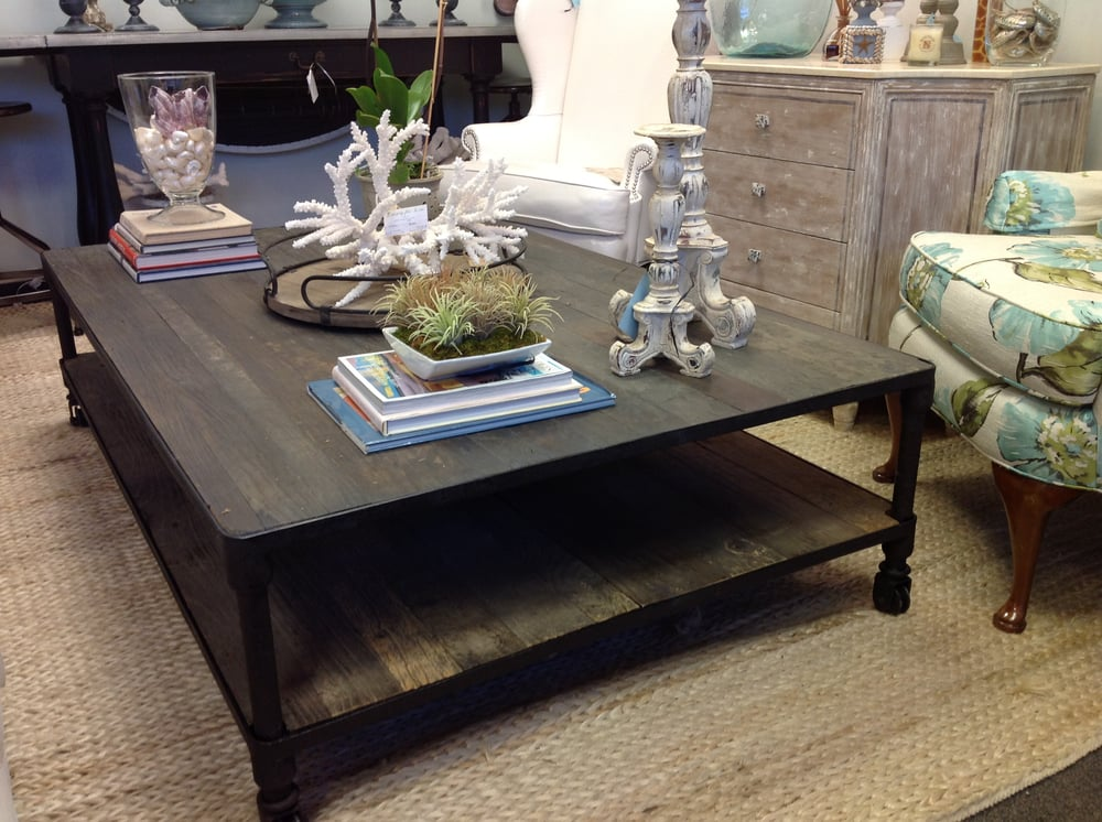 Love this coffee table at Luxury For Less in Ponte Vedra ...