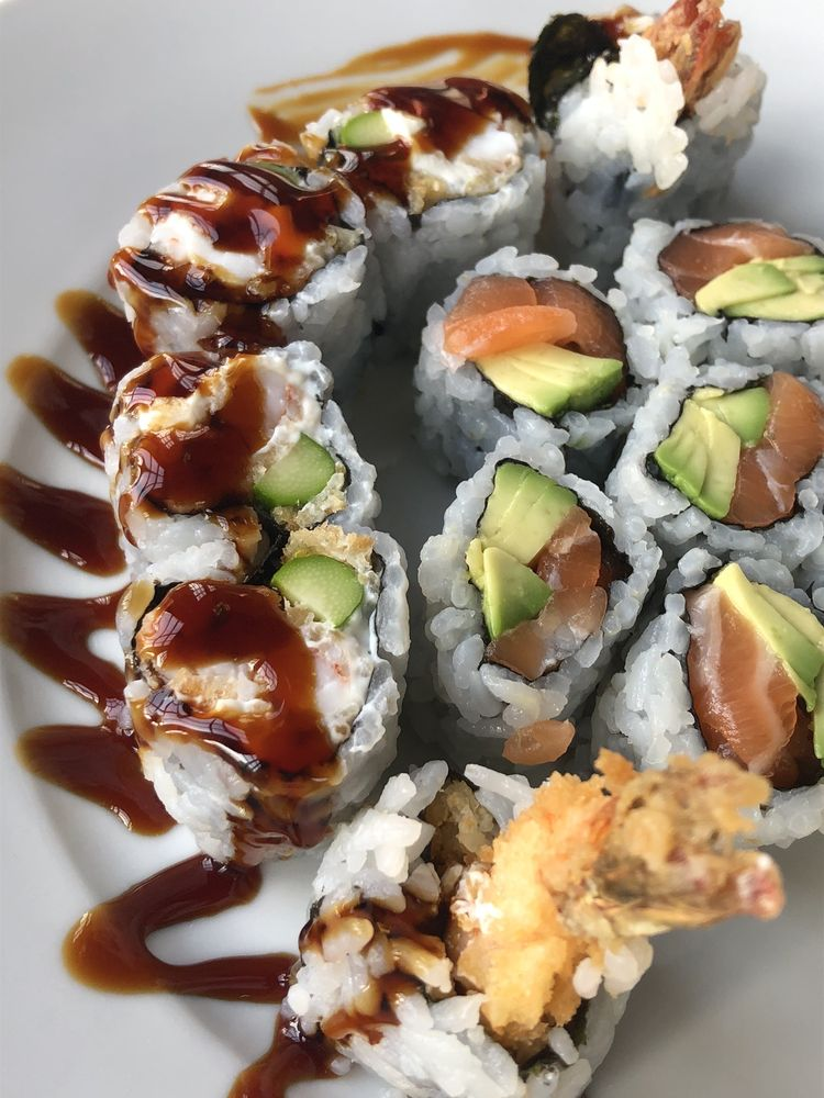 Food from Baba Sushi