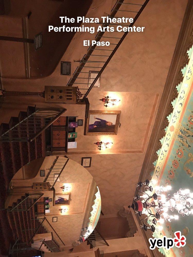 The Plaza Theatre Performing Arts Center: 125 Pioneer Plz, El Paso, TX