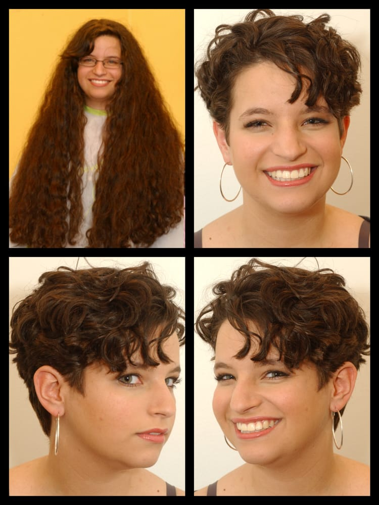 Very Long To Short Curly Makeover Yelp