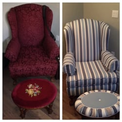 Photo Of Urban Upholstery   Olympia, WA, United States. Before And After.