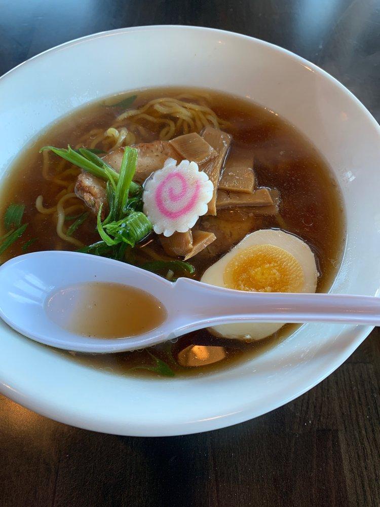 Food from Mampuku Ramen