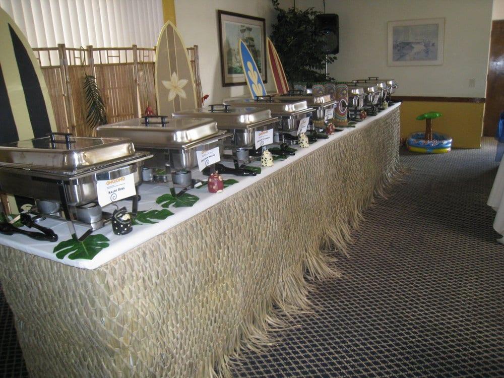214 photos for Ono Ono Hawaiian BBQ & Catering - Luau Buffet Table Set-Up & Deco - Yelp