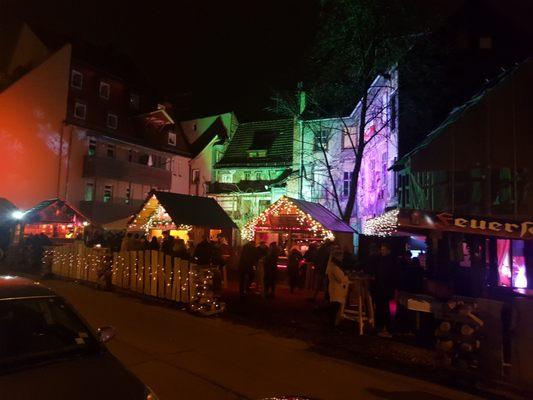 Weihnachtsmarkt Erfurt.Kleinster Erfurter Weihnachtsmarkt Christmas Markets