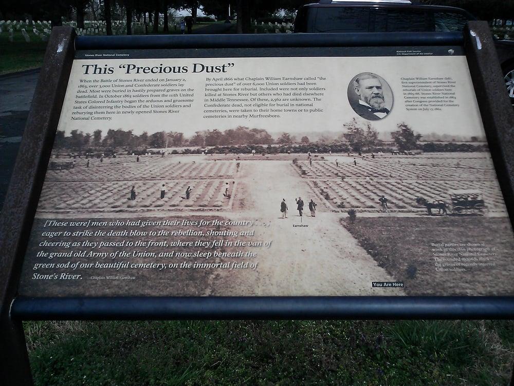 Stone River National Cemetery: 3501 Old Nashville Hwy, Murfreesboro, TN