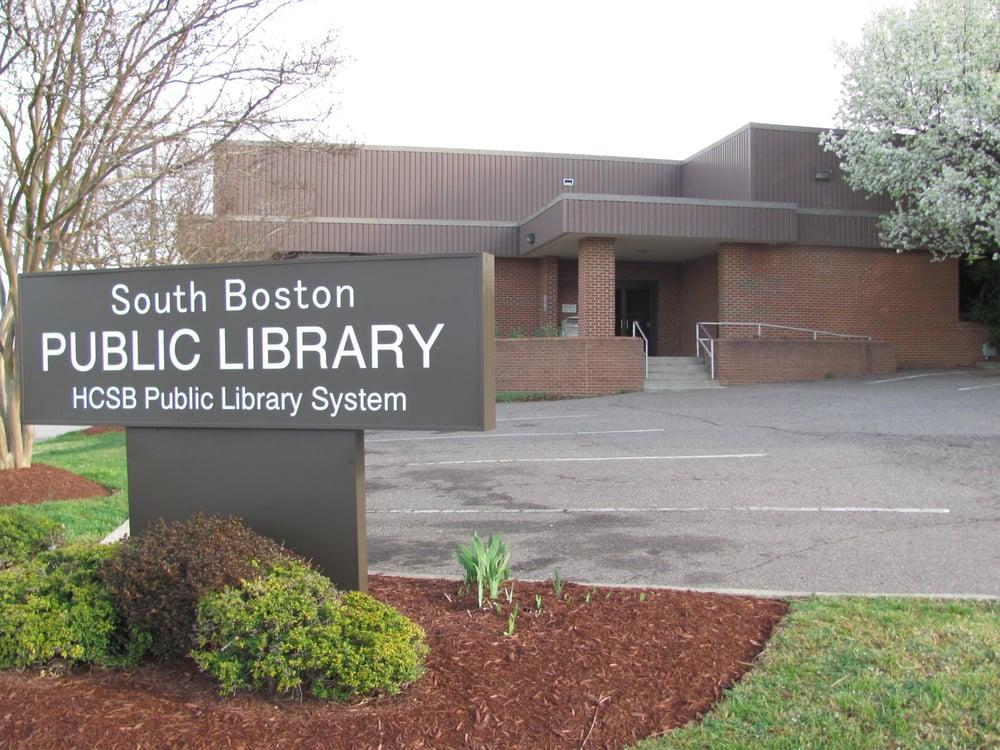 South Boston Public Library: 509 Broad St, South Boston, VA