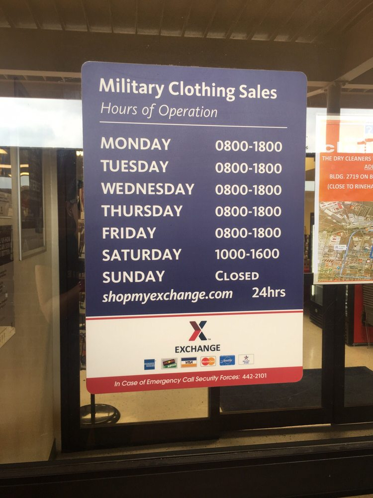 Military Clothing Sales Store: 1802 Macomb Rd, Fort Sill, OK