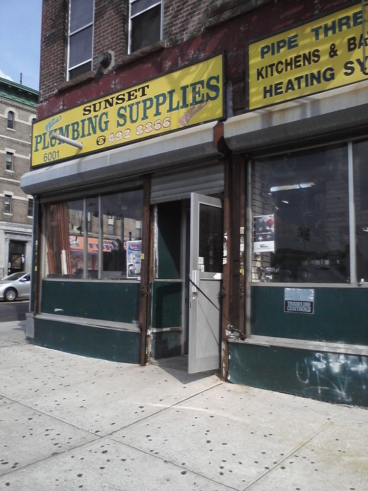 sunset plumbing supply plumbing sunset park brooklyn. Black Bedroom Furniture Sets. Home Design Ideas