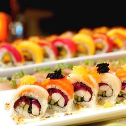 Photo Of Onessa Sushi Cocina Seattle Wa United States Orange Crush Roll