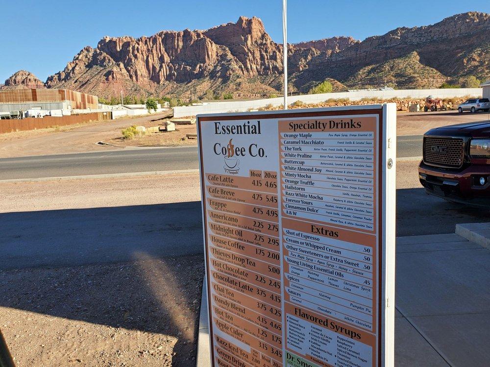 Essential Coffee: 885 W Arizona Ave, Colorado City, AZ