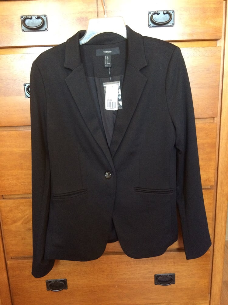 Black blazer from them contemporary fashion section. Size ...