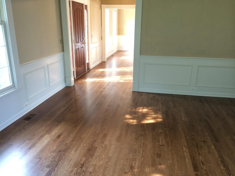 2 1 4 unfinished red oak hardwood flooring was installed for What is unfinished hardwood flooring
