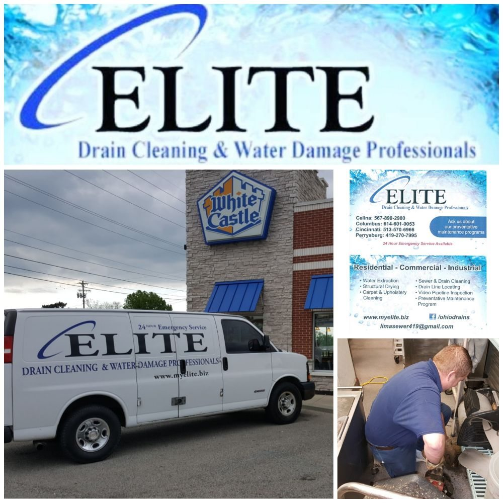 Elite Drain Cleaning & Water Damage Professionals: 616 N Spruce St, Saint Marys, OH