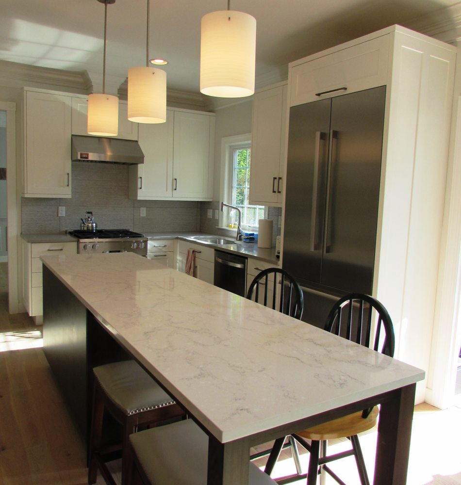 Kitchen remodel in the Kentlands in Gaithersburg, MD with ...