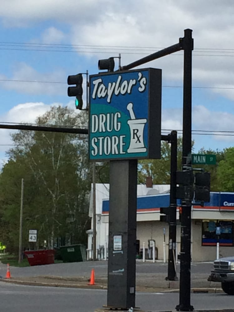Taylor's Drug Store: 2 Old Point Ave, Madison, ME
