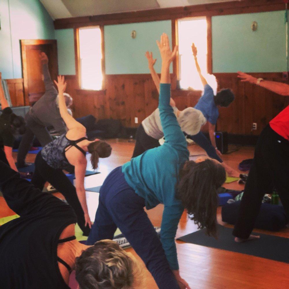 Quonny Yoga: 5662 Post Rd, Charlestown, RI