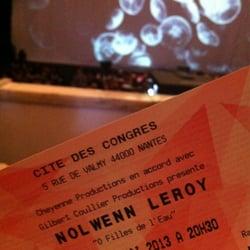 La Cité - Nantes, France. C'est parti pour le concert de Nolwenn Leroy !
