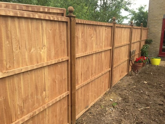 how to fix a fence with the post leaning outwards