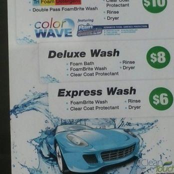 Car Wash Chevron Price