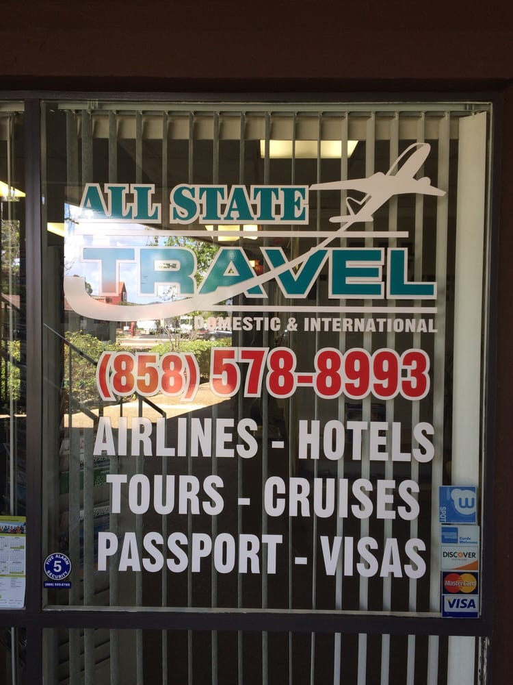 All State Travel: 9355 Mira Mesa Blvd, San Diego, CA