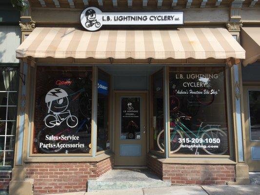 L B Lightning Cyclery 15 E Genesee St Auburn Ny Bicycle
