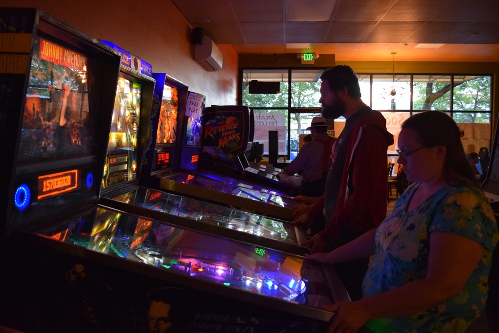 Ruckus Room Arcade and Fun Center: 1423 Railroad Ave, Bellingham, WA