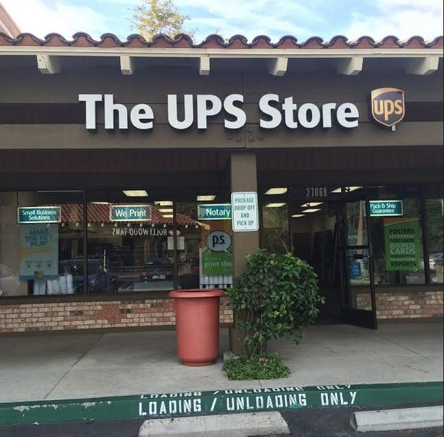 The UPS Store: 27068 La Paz Rd, Aliso Viejo, CA