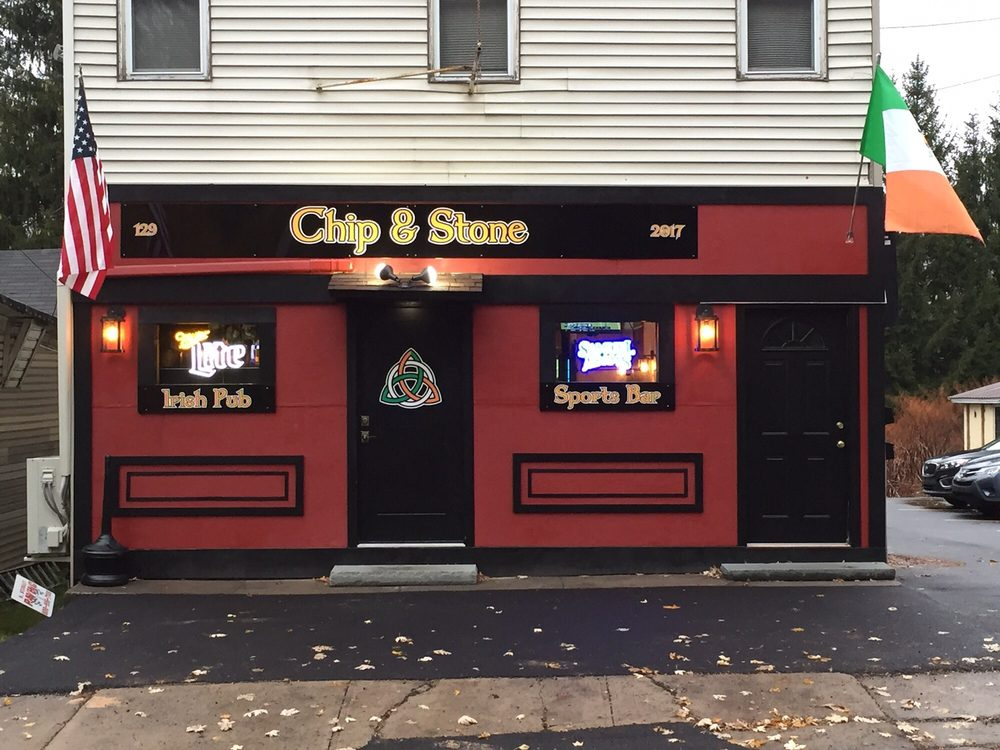 Chip & Stone Pub & Eatery: 129 Pike St, Carbondale, PA