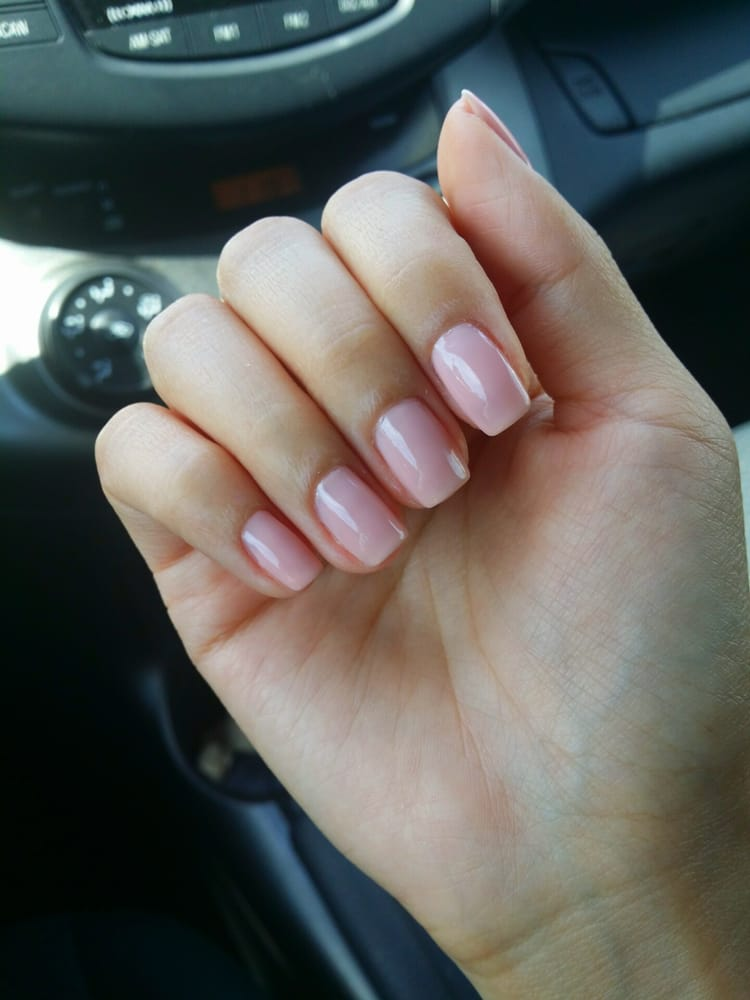 Regular manicure by the owner. Essie color - Yelp