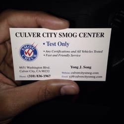 Culver City Smog Center 18 Photos 294 Reviews Motor Vehicle Inspection Testing 8651