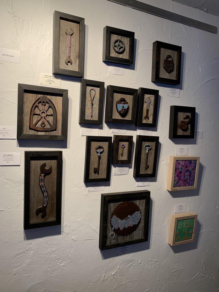 The Alaska House Art Gallery: 1003 Cushman St, Fairbanks, AK