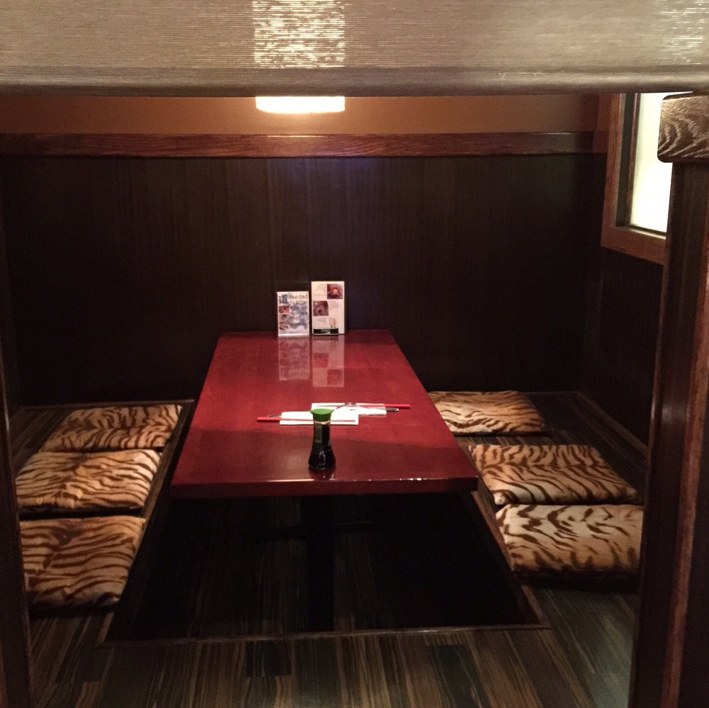 Photo of Dao Fusion Cuisine & Lounge - Stratford, CT, United States. Tatami room