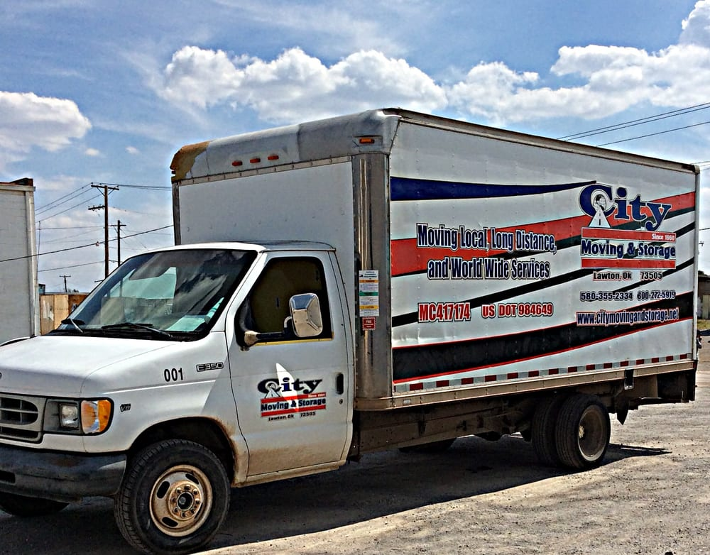 City Moving and Storage: 2309 SW Jefferson Ave, Lawton, OK