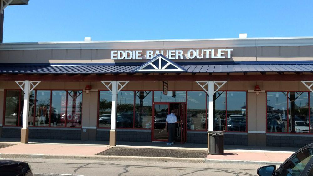 Eddie Bauer Outlet: 8195 Factory Shops Blvd., Jeffersonville, OH