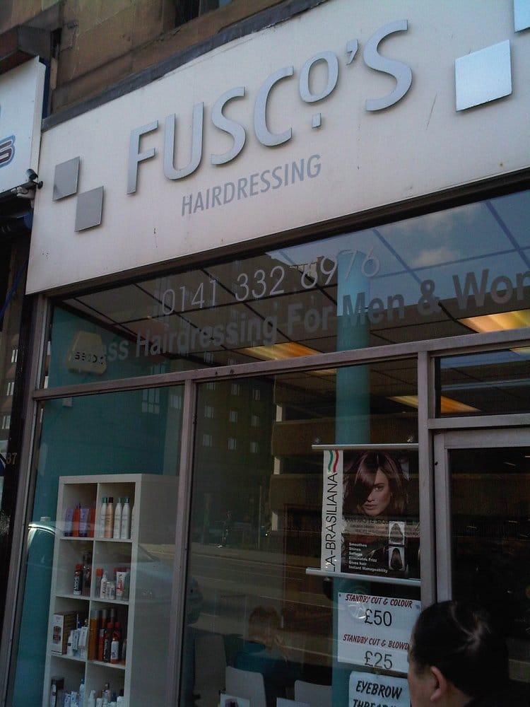 Fusco s hairdressers hair salons 89 cambridge street for Aaina beauty salon glasgow
