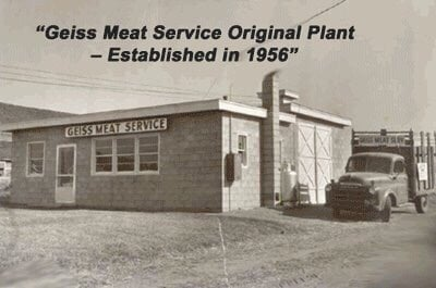 Geiss Meat Service: W4490 Pope Rd, Merrill, WI