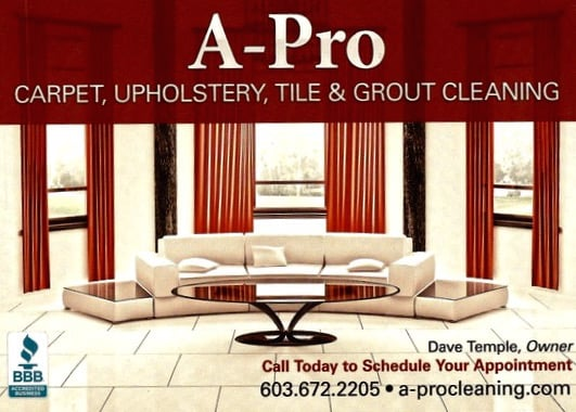 A-Pro Carpet & Upholstery Cleaning: 244 Boston Post Rd, Amherst, NH
