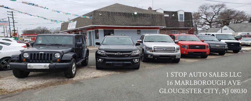 1 Stop Auto Sales: 16 Marlborough Ave, Gloucester City, NJ