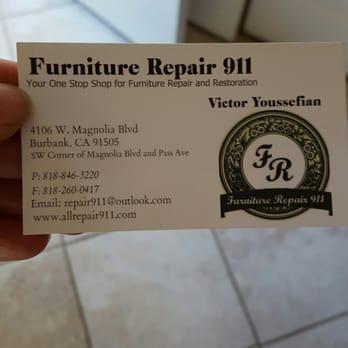 Photo Of Furniture Repair 911   Glendale, CA, United States. Furniture  Repair 911